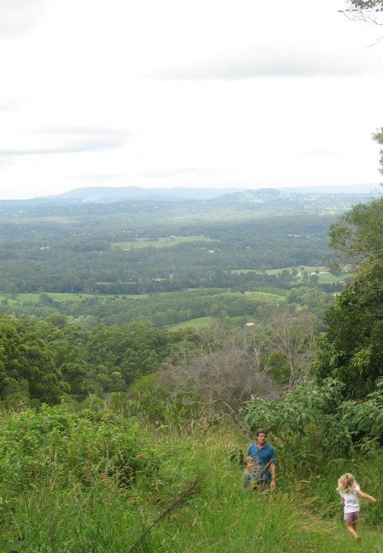 Sunshine Coast Hinterland: Run darling before a leech gets you