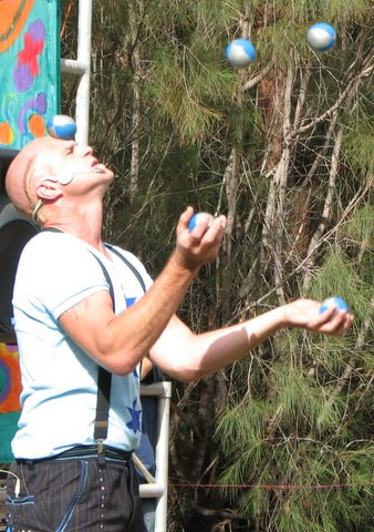 Juggling Act, kept all the balls in the air and was funny too