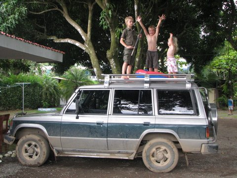 Our Wheels in Costa Rica