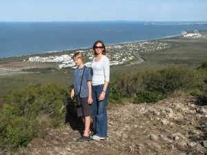 Looking South from the top of Mount Coolum