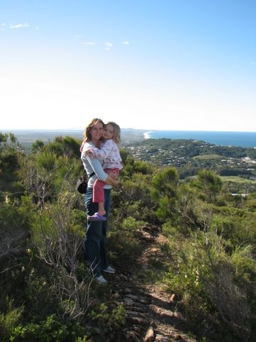 View north to Noosa from Mount Coolum