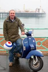 Peter Moore & Vespa, Brighton, UK