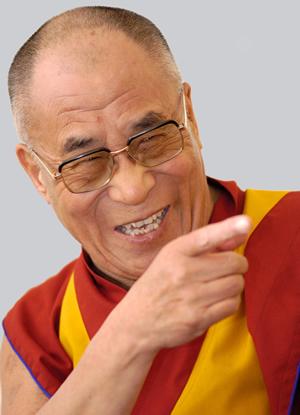His Holiness the Dalai Lama, image from www.dalailama.com
