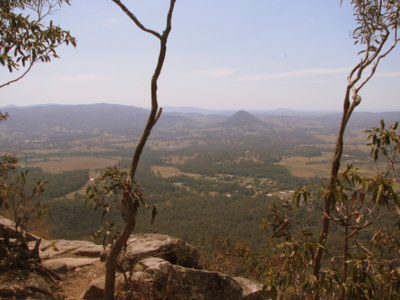 Buena Vista from the top of Mt. Cooroora