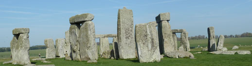 Stonehenge England in spring