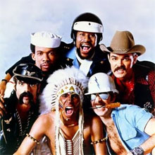 The Village People sing Macho Man