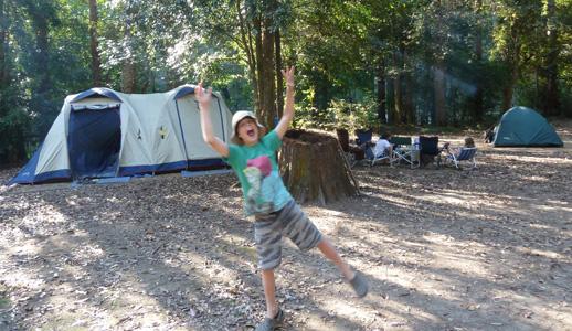 Camping, Australia, Queensland