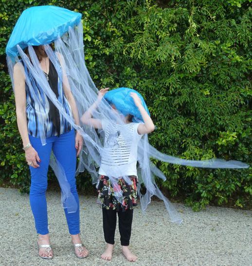 Halloween jellyfish costume