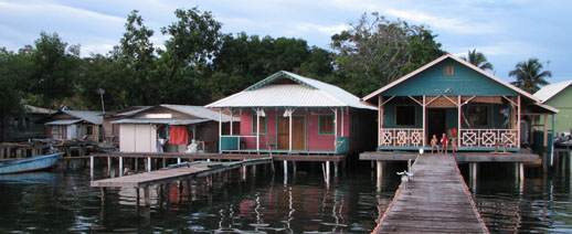 Our house in Bocas del Toro