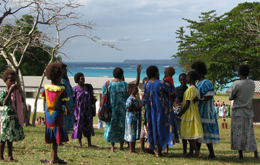 Port Orly on Esprito Santo Island, Vanuatu