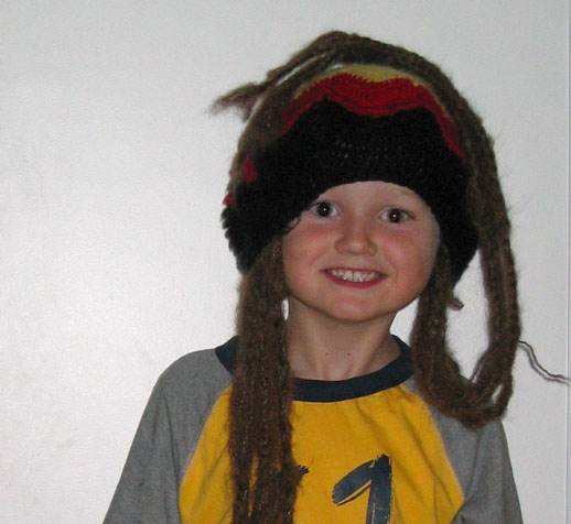 photo faves - treasured souvenirs - rasta hat