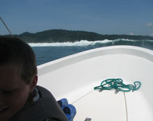 Osa Peninsula, Costa Rica by boat