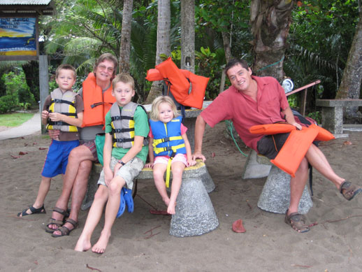 My travel companions osa peninsula costa rica