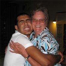Funny travel stories - mum and Turkish waiter