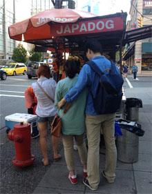 Vancouver japadog street food