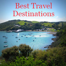 Best travel destinations, waiheke island, new zealand