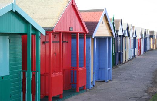 british holidays beach huts