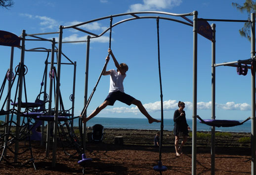 Things to See and Do in Hervey Bay pines playground