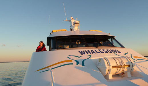 Things to See and Do in Hervey Bay sunset cruise