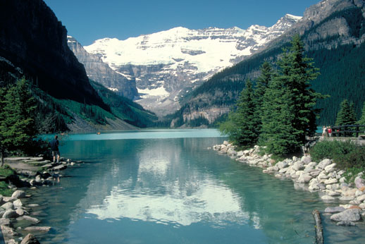 lake louise, banff, canada travel dream