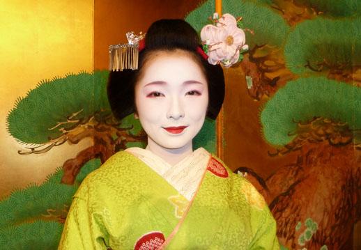 japan travel photo green