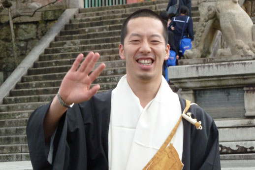 happiness secrets Kiyomizu Temple in Kyoto japan