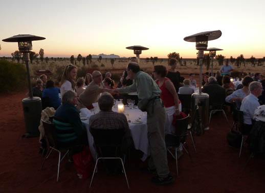 uluru travel things to do sounds-of-silence dinner