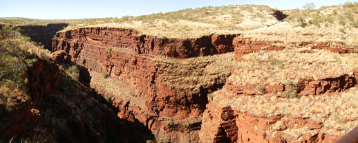 Travel Hot Spots in Outback Australia - Hancock Gorge, Karijini National Park