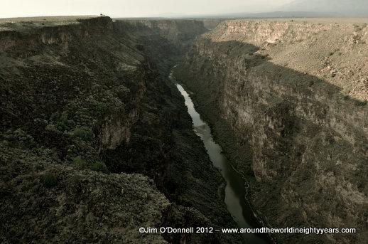 Rio Grande Gorge, Taos, New Mexico ©Jim O'Donnell