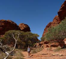 KIngs canyon walk, central australia