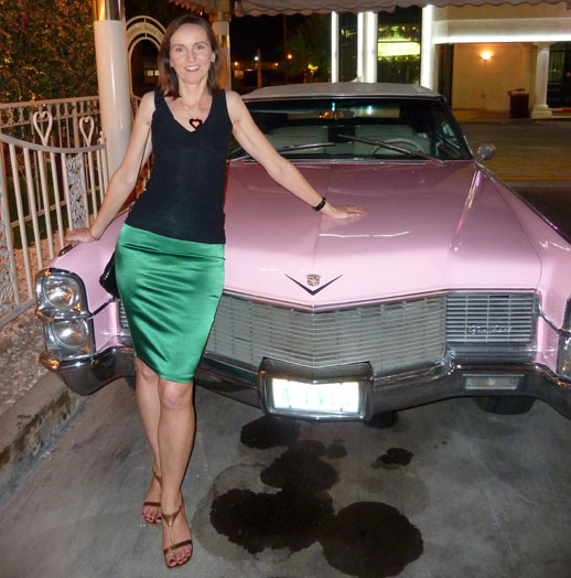 The Best to Do in Las Vegas - pink cadillac - annabel candy