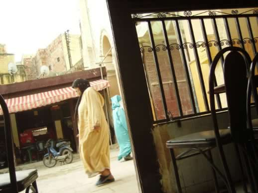 Traveling to the fez medina