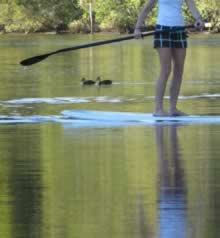 52 Exercises: Stand Up Paddleboarding and talking about depression