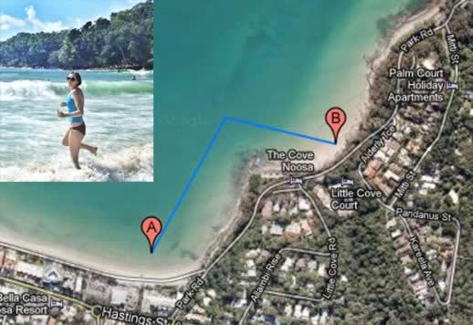 ocean-swim-route