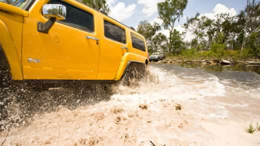 Driving through Kakadu National Park looks like an adventure in itself
