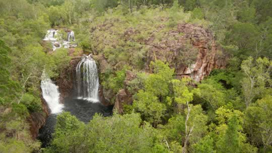 Florence Falls in Litchfield National Park a short trip from Darwin.