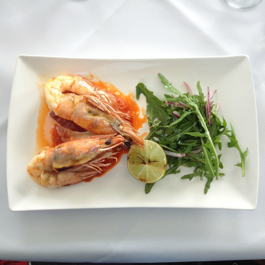 Wollongong travel tips - Harbour View Restaurant -starter