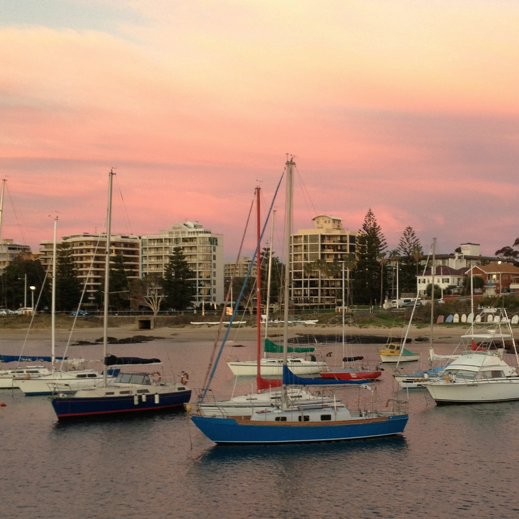 Wollongong travel tips - harbour sunrise