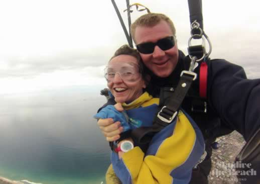 skydiving fears