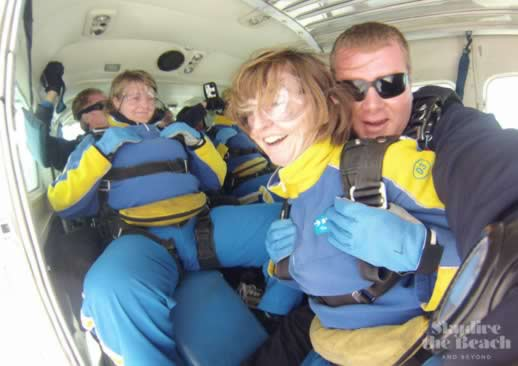 skydiving and fear wollongong