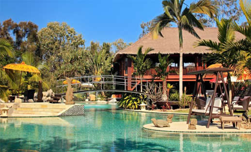 Noosa on any budget - Makepeace Island. Actually this one is best if you have NO budget