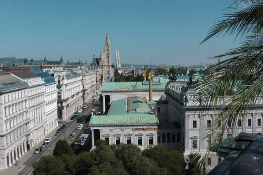 Vienna's Palace of Justice