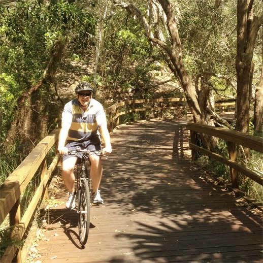 peregian beach bike ride