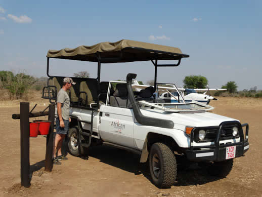 dandawa airstrip mana pools small
