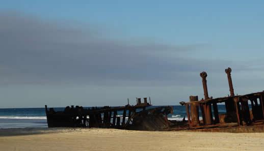 fraser island wreck