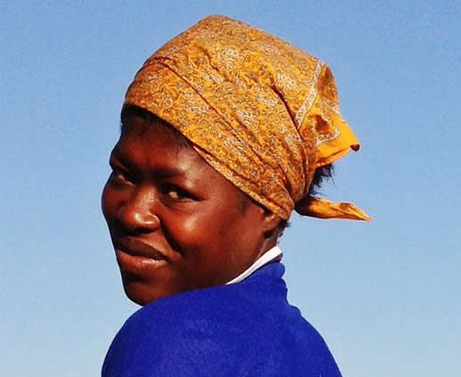 One of the many beautiful mums I chatted with in Harare who was super friendly and happy to let me take her photo