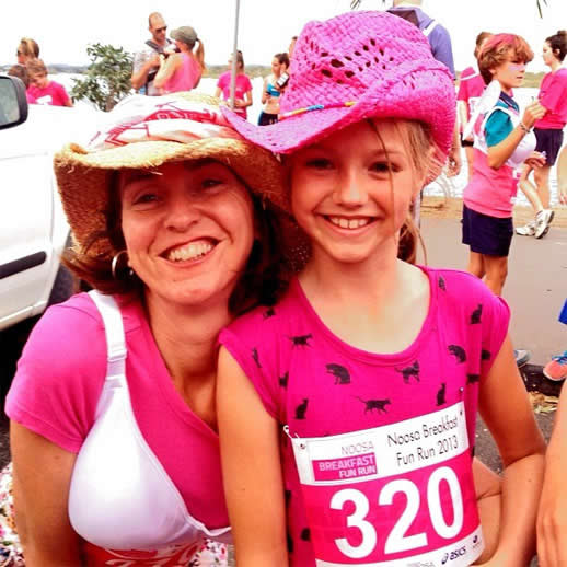 Fun runs are great for family fun and fitness - it was an honor to run with my dear daughter and it won't be long before I really can't keep up with her