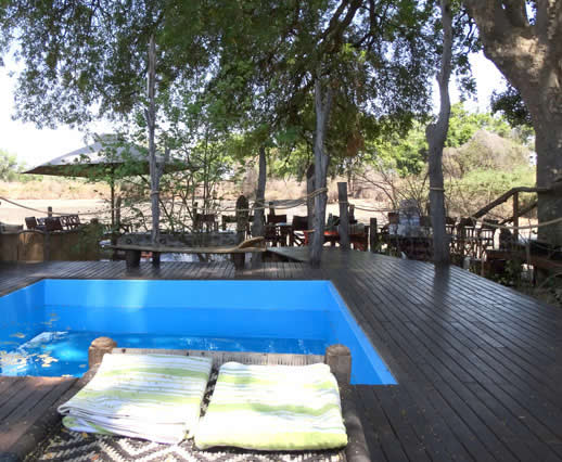 Kanga Camp in Mana Pools Zimbabwe