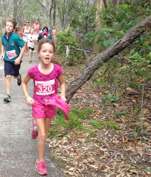 noosa triathlon fun run woods