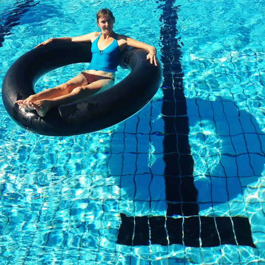 swimming laps noosa